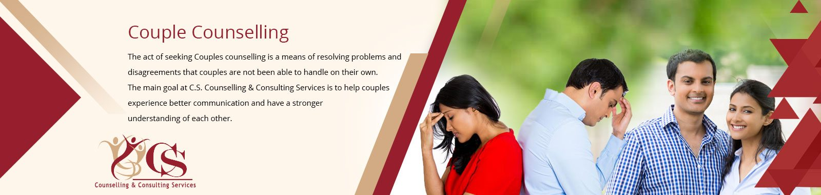 Couples Counselling Services - CS Counselling